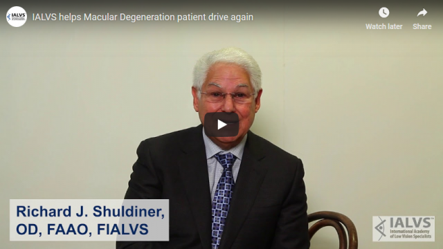 Screenshot 2019 03 30 IALVS helps Macular Degeneration patient drive again   YouTube(1)